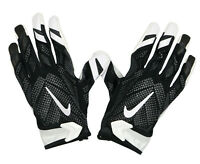 NIKE Vapor Knit Football Receiver Gloves sz 2XL XX-Large Black White Gray NFL