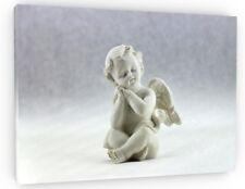 CHERUB ANGEL LOVE CANVAS PICTURE PRINT WALL ART CHUNKY FRAME LARGE 812-2