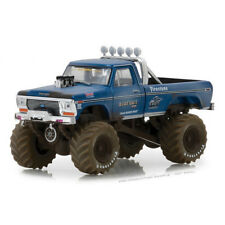 1/64 1974 Ford F-250 BigFoot DIRTY Monster Truck Greenlight Kings of Crunch NEW