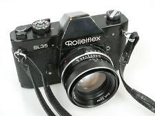 Rolleiflex SL35 black mit Carl Zeiss Planar 1,8/50 Alu