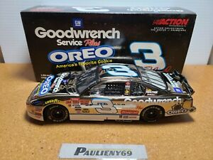 2001 Dale Earnhardt Sr #3 GMG/Oreo White Gold 1:24 NASCAR Action GM Dealers MIB