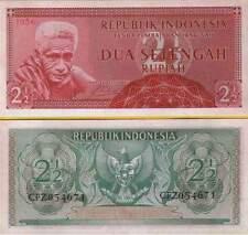 P75 indonesia/indonesia 2,5 rupia 1956 UNC