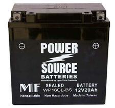 Sea-Doo Battery Yamaha Wave-Runner Kawasaki Jetski Power Source WP16CL-BS