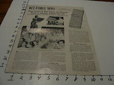 RCA Family News # 15 Winter 1956 TV in Indonesia, Pakistan and India