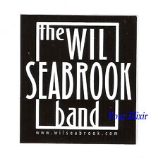 The Will Seabrook Band Maverick Black & White Car Case Board Amp Sticker