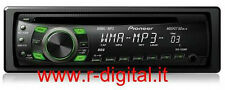 AUTORADIO PIONEER DEH-1320MP MOSFET 50x4 RDS MP3 WMA AUX LETTORE CD RADIO FM