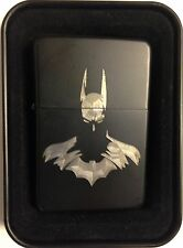 Batman Arkham Black Gift Engraved Cigarette Lighter Biker Gift LEN-0058