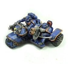 Warhammer 40k Army Space Marines Ultramarines Attack Bike Painted