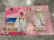 Discover The World With Barbie - Greece Costume (New, on Card - UK Packaging)