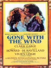 Gone With The Wind Movie Poster large steel sign 400mm x 300mm (og)