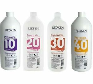 Redken Pro Oxide Cream Develope 32 oz ( Choose Your Volume)