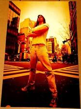 ANDREW W.K. WK TRIBUTE POSTER RARE IMPORT
