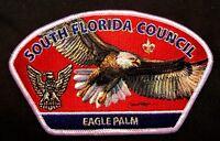 BSA SOUTH FLORIDA COUNCIL FL OA 2016 2017 O-SHOT-CAW 265 EAGLE SCOUT PALM CSP
