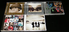 U2 X 5 CD Collection-BEST OF 1980-1990 ,1990-2000, POP, ACHTUNG BABY,ALL THAT YO