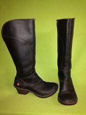 Black The Art Company Knee High Boots 7.5 38