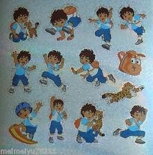 2x Sheets Sandylion Glitter Stickers Go Diego Go Baby Jaguar BUY2GET1FREE