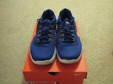 Men's Nike Lunar Converge Athletic Shoe Size 8.5, Blue/White