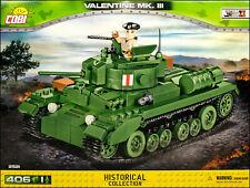 COBI Valentine Mk. III (2521) - 406 elem. - WWII British infantry tank