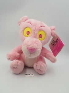 "Pink Panther B0806 United International Plush 6"" TAG Stuffed Toy Doll"
