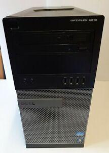 DELL OptiPlex 9010 MT i7-3770 ,3.40GHz 8GB RAM ,120GB SSD,500GB Win 10 pro Wifi