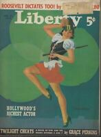Liberty Magazine March 25, 1939 Roosevelt Mussolini Bing Crosby Talent Scout