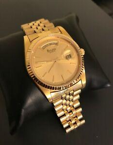 Antique Bulova Gold Watch