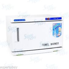 2 in 1 UV Sterilizer & Towel Warmer Cabinet Spa Beauty Salon Equipment Heater