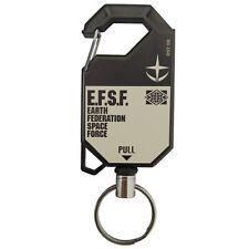 Mobile  Suits Gundam E.F.S.F Reel Key Chain Ring Accessory