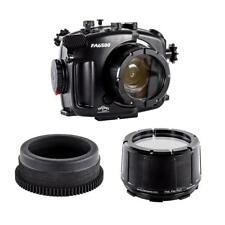 Fantasea Kit ein FA6500 Sorgerecht Unterwasser- für Sony A6300 6500 + flachen