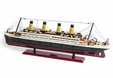 K-08 Miniature Wooden Titanic Model Ship DIY Kits Hand Made Decoration Toy  r_c