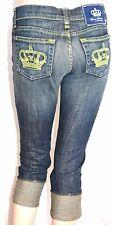NEU Rock & Republic VICTORIA BECKHAM Capri Jeans Hose W25 NEU trousers 280€