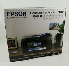 Epson XP-7100 Premium Wireless Color Photo Printer, DVDs, Touchscreen FREE SHIP