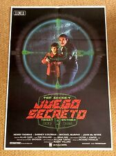 CLOAK & DAGGER Original Movie Poster HENRY THOMAS DABNEY COLEMAN MICHAEL MURPHY