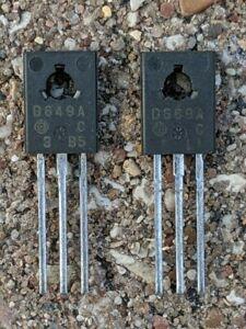 5 pair Hitachi 2SB649A & 2SD669A Transistor B649A/D669A total 10pcs