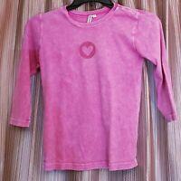 XCIT MODA Women's Long Sleeve Heart Tee Shirt - Women's Medium