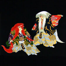 Furoshiki Japanese Wrapping Cloth Large Kabuki Dancers Renjishi