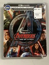 Marvel Avengers Age of Ultron (4K UHD + Blu-Ray + Digital HD) Steelbook Sealed