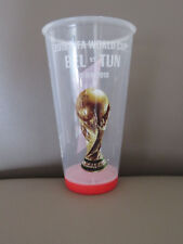 Gobelet du match Beer Cup 2018 FIFA World Cup Belgique - Tunisia Diables Rouges