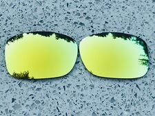 POLARIZED 24K GOLD CUSTOM MIRRORED REPLACEMENT OAKLEY TWOFACE LENSES