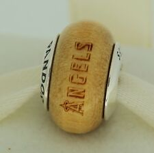 Authentic Pandora USB790705-G013 Los Angeles Angels Baseball Wood Bead Charm