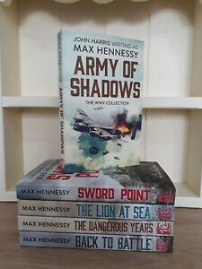 Collection of 5 x Paperback Books - Max Hennessy - Army of Shadows - NEW