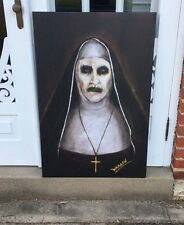 ~DISCOUNT SPECIAL~ THE CONJURING 2 DEMON NUN VALAK PAINTING JAMES WAN ANNABELLE
