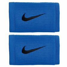 NIKE REVEAL Dri-FIT Reveal Double Wide Wristbands, Blue