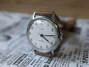 Gents Vintage Timex GB 70's Breguet Numerals Marlin Stick Watch  - Working