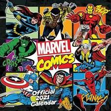 Marvel Comics Official Calendar 2021