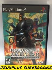 Nobunaga's Ambition: Iron Triangle (Sony PlayStation 2, 2009) (COMPLETE IN BOX)