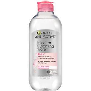 Garnier SkinActive Micellar Cleansing Water For All Skin Types 13.5 fl oz
