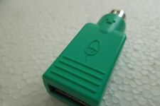 Computer Mouse USB Female to mini DIN 6-Pin PS/2 Adapter / Converter (Qty = 1)