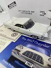 Danbury Mint Anniversary 1957 Chrysler 300c  Convertible Diecast Box Papers