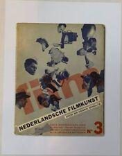 "Film: Serie Monografieen Over Filmkunst Art Work Poster 9.5""x12.5"" Reprint Print"